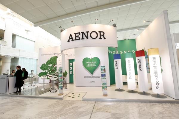 Stand AENOR Asociación Española de Normalización y Certificación 1