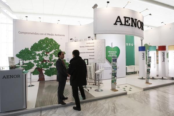 Stand AENOR Asociación Española de Normalización y Certificación 3