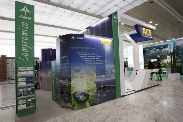 Stand Aeropuertos Españoles y Navegación Aérea (AENA) 3