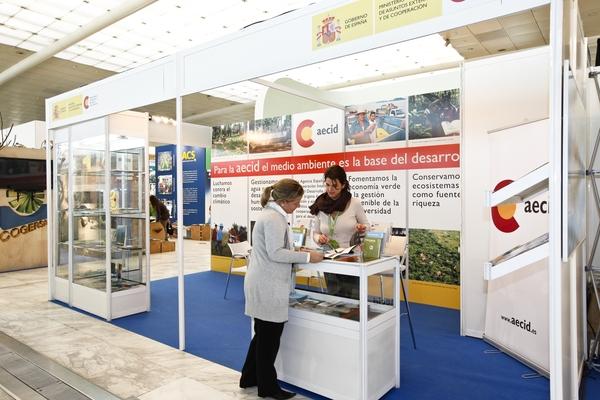 Stand Agencia Española de Cooperación para el Desarrollo (AECID) 1