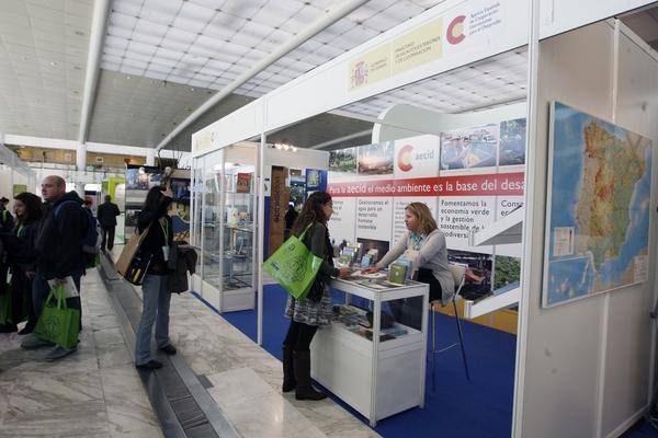 Stand Agencia Española de Cooperación para el Desarrollo (AECID) 2