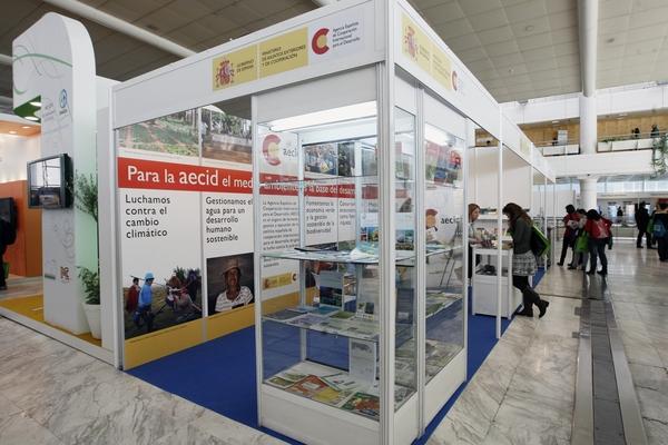 Stand Agencia Española de Cooperación para el Desarrollo (AECID) 3