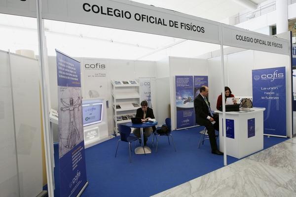 Stand Colegio Oficial de Físicos (COFIS)