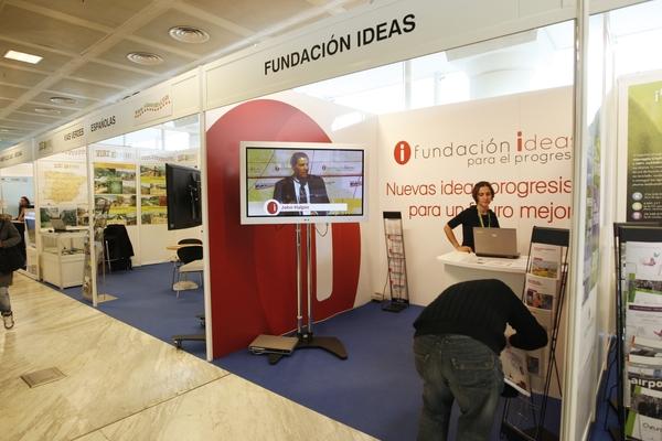 Stand Fundación IDEAS para el Progreso 1