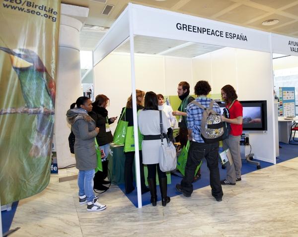 Stand Greenpeace España 2