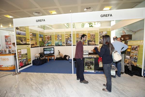 Stand Grupo de Rehabilitación de la Fauna Autóctona y su Hábitat (GREFA) 1