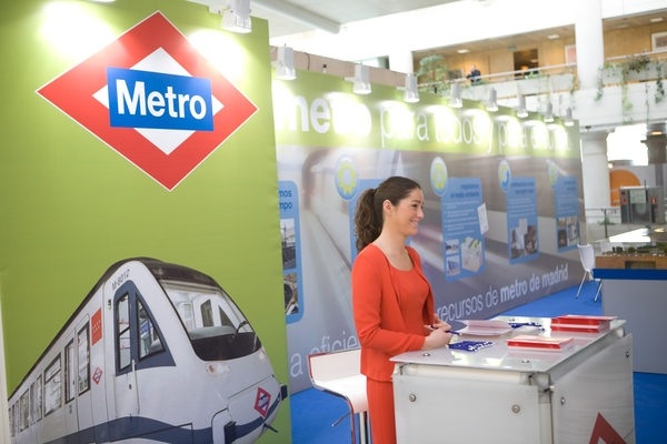 Stand Metro de Madrid 1