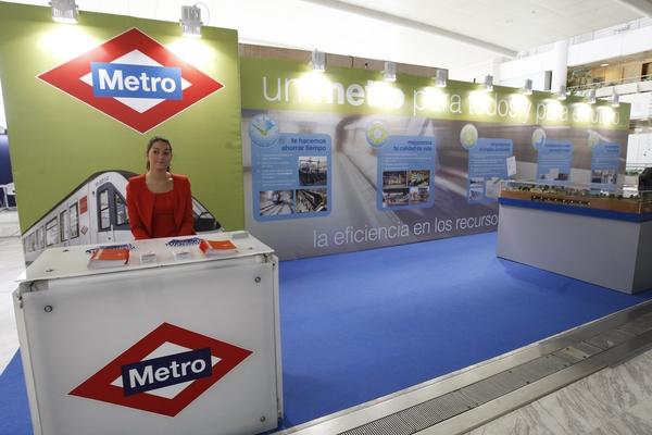 Stand Metro de Madrid 2