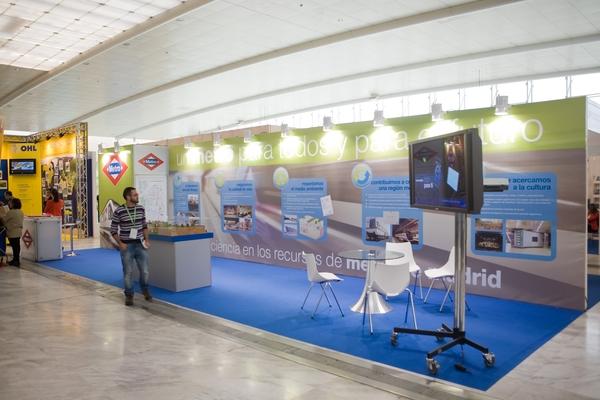 Stand Metro de Madrid 3